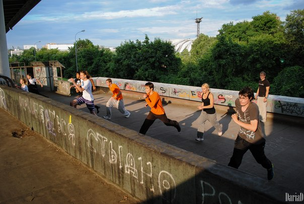 Уличные тренировки